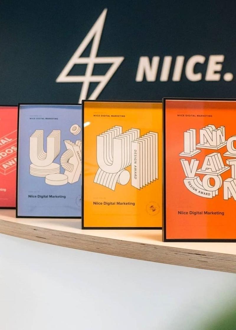 Awards voor Niice.nl